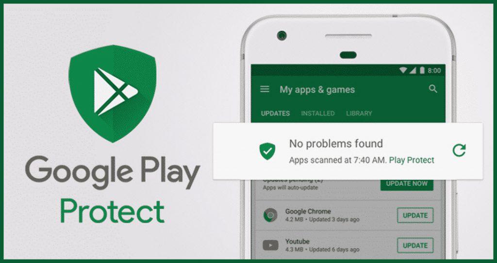 Google Play Protect جوجل بلاي بروتكت